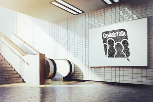 CollabTalk and the escalator