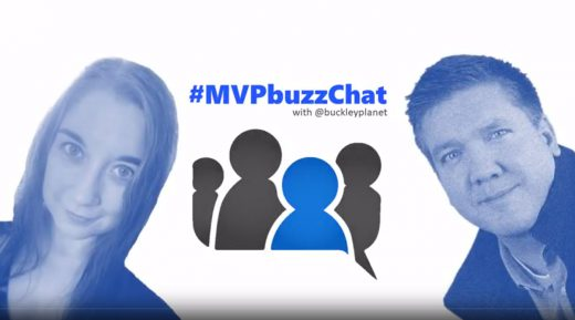 #MVPbuzzChat with Becky Benishek