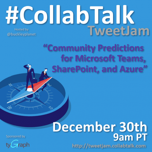 December 2019 CollabTalk TweetJam