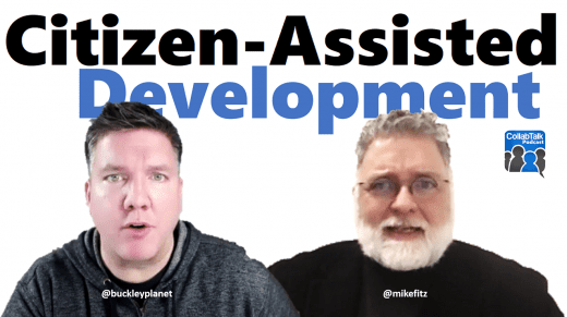 Citizen-Assisted Development with Mike Fitzmaurice from WEBCON