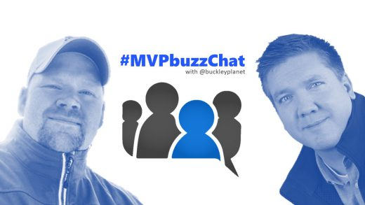 #MVPbuzzChat interview with Office Apps & Services MVP Dan Usher