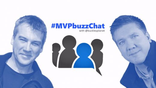 #MVPbuzzChat with Office Apps & Services MVP Dean Swann