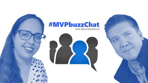 #MVPbuzzChat interview with Developer Technologies MVP Dr. Sarah Kaiser