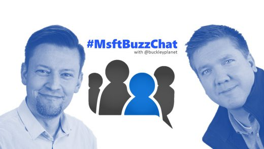#MsftBuzzChat interview with Jussi Roine