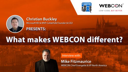 What makes WEBCON different? Interview with Mike Fitzmaurice