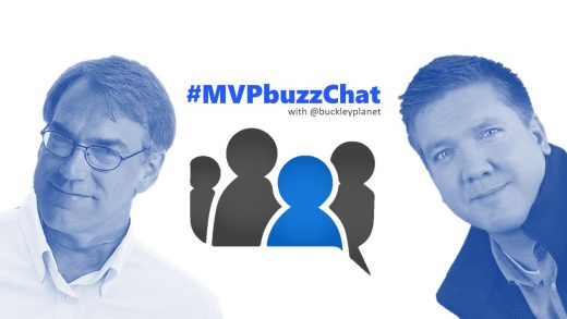 #MVPbuzzChat with Office Apps & Services MVP Ric Bretschneider