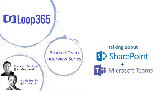 #Loop365 interview with Microsoft's Mark Kashman on the new Microsoft Lists app
