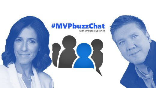 #MVPbuzzChat with Office Development MVP and Microsoft Regional Director Beatriz Oliveira