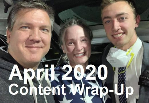 April 2020 Content Wrap-Up