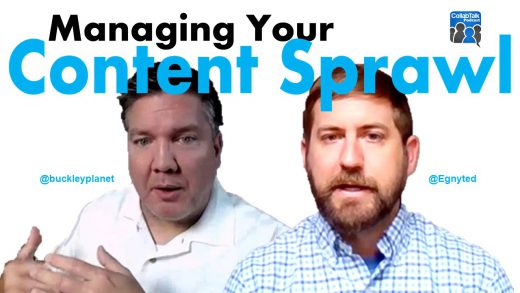 #CollabTalk Podcast and vlog with Kyle Wallstedt from Egnyte talking about Managing Your content Sprawl