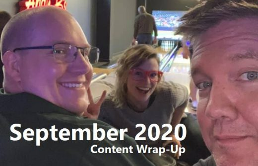 September 2020 Content Wrap-Up