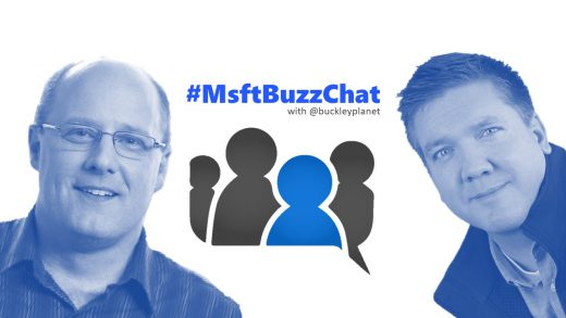 #MsftBuzzChat Episode 8 with Customer Success Manager and former MVP Chris Slemp