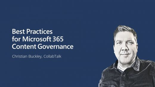 Best Practices for Microsoft 365 Content Governance