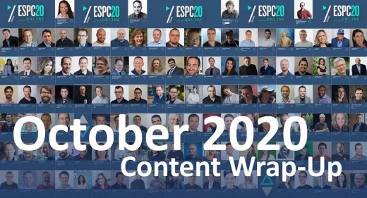 October 2020 Content Wrap-Up
