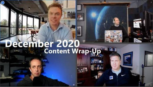 December 2020 Content Wrap-Up