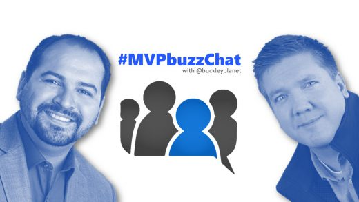 #MVPbuzzChat Episode 110 with Office Apps & Services MVP Johnny Lopez (@rockett_15)